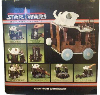 Vintage Kenner Star Wars POTF Ewok Battle Wagon Ladder Part 1985