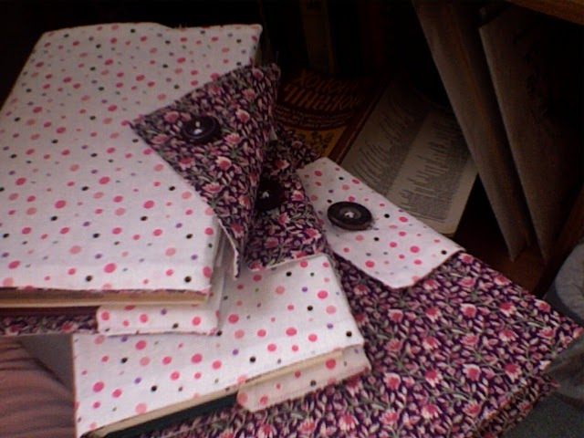 How To Make A Book Cover No Sew : Morning coffee how to make a fabric book cover