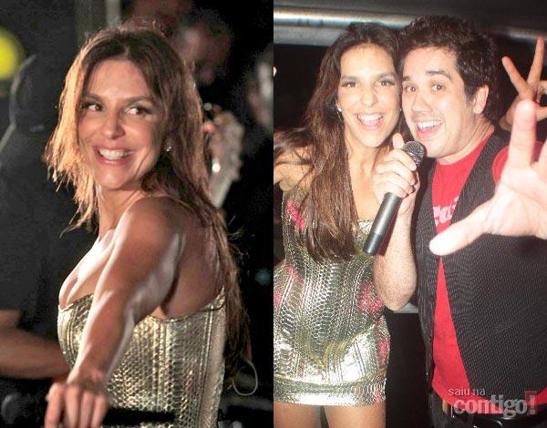 5e68d35c2 O vocalista da banda Jota Quest, Rogério Flausino, levou toda a família  para prestigiar o show da cantora Ivete Sangalo neste sábado (30/10), ...