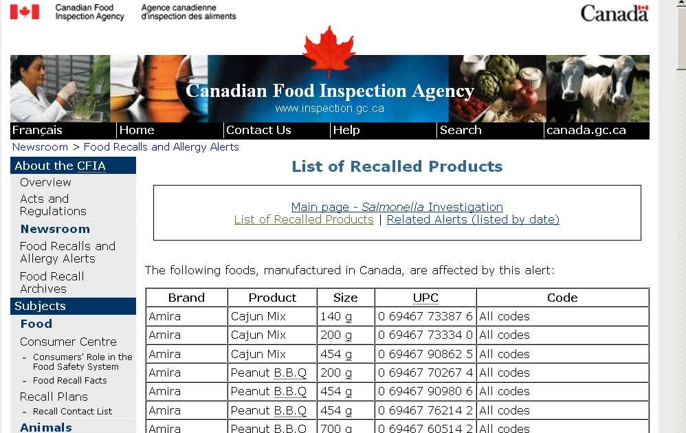 Canadian Food Blogs Recipes