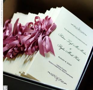 Wedding inspiration for the modern bride d i y ceremony programs