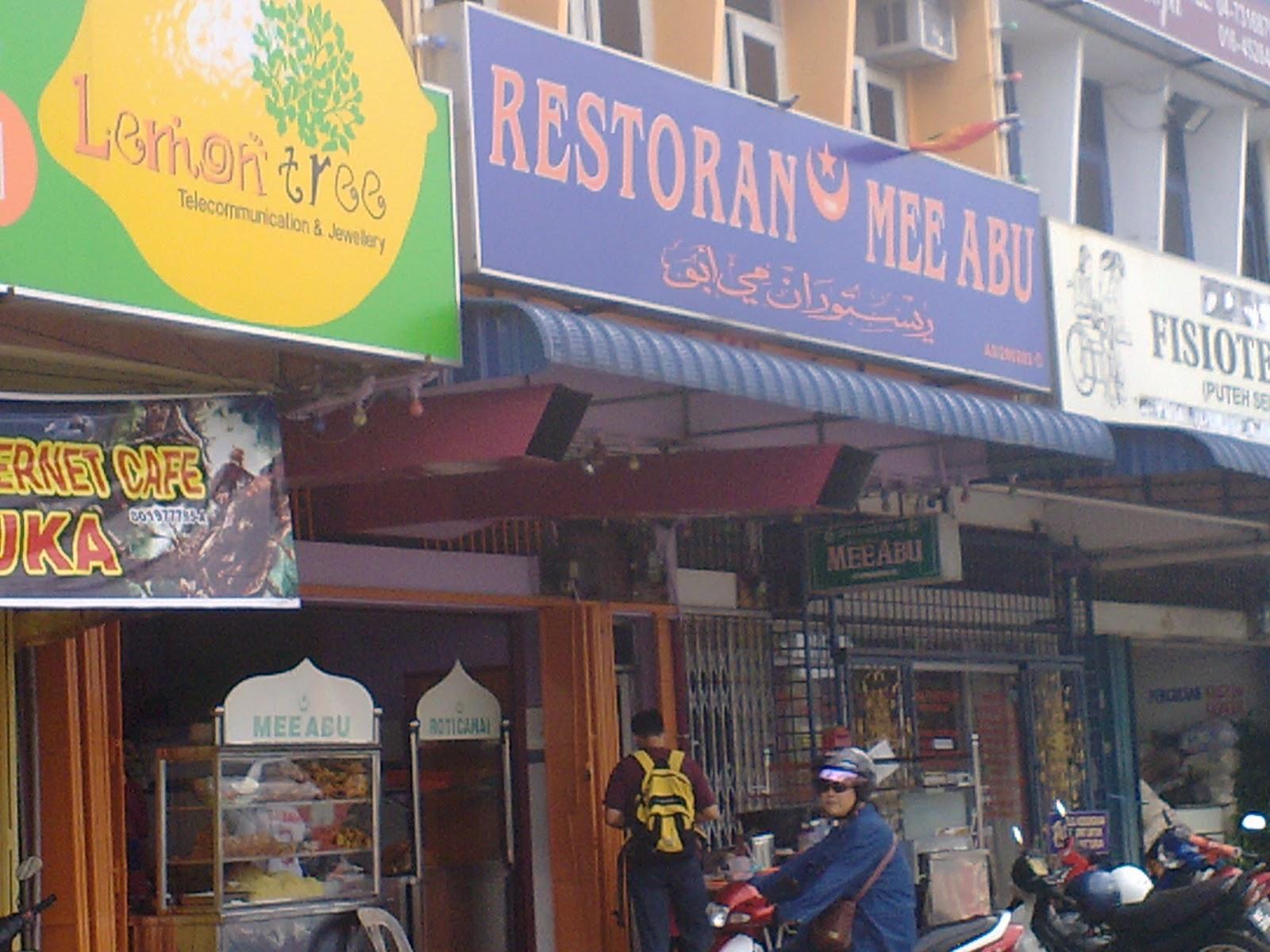Restoran Mee Abu Banyak Di Alor Setar A B U Tu Bukannya Nama Orang Yaaa Tau Tak Kenapa Dinamakan