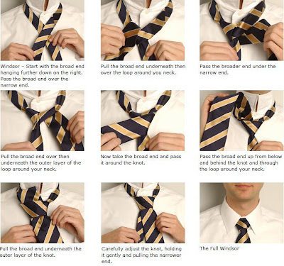 how to tie windsor knot step by step. Learn How to Tie a Windsor