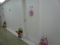 病室前の廊下