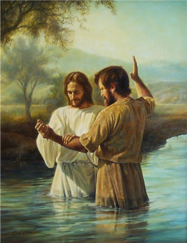 The Baptism of John the Baptist