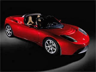 Tesla Roadster - Electric Car
