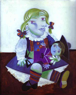 Maya with a Doll - Picasso