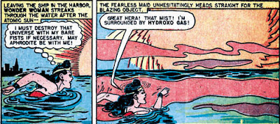 Wonder Woman Comics For Table Of Elements