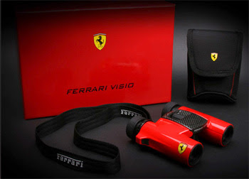 Ferrari Visio Binoculars with Accessories
