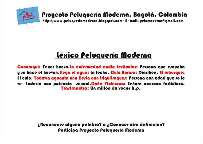Proyecto peluqueria moderna diccionario de la peluquer a moderna - Proyecto de peluqueria ...
