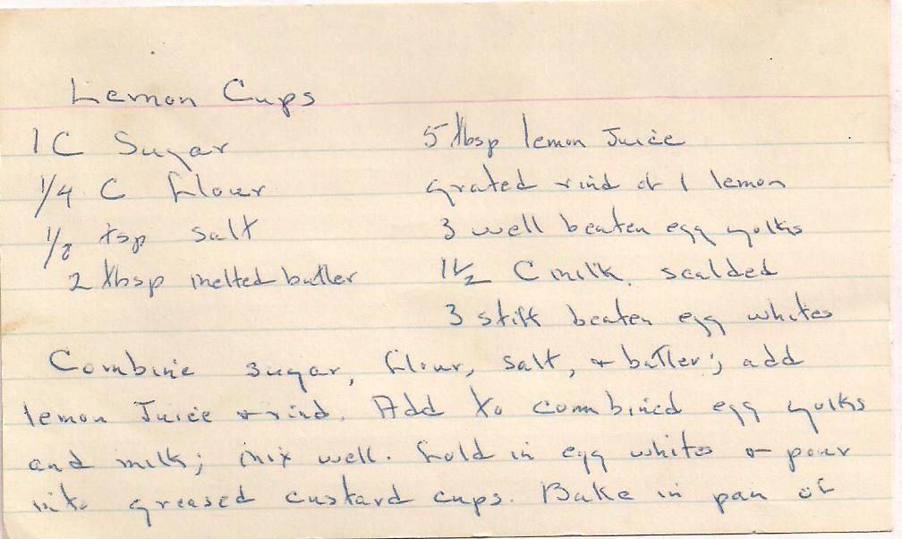photograph about Printable Recipe Pages referred to as Dont Take in the Paste: Lemon Cups recipe with printable recipe