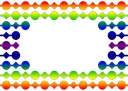 image regarding Printable Badges titled Track record badges - rainbow beads printable - Dont Take in the Paste