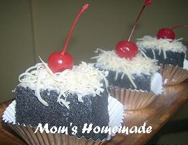 Resep Membuat CHESSE CAKE KETAN HITAM