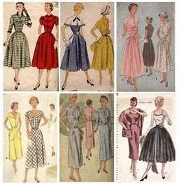 bajo precio d80d9 29c1c Moda de los 50*s: Estilo de ropa en los años 50*s