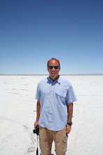 Me in the land of infinity: Utah's Great Salt Lake Desert