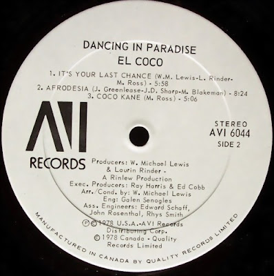 Disco2go El Coco 1978 Dancing In Paradise