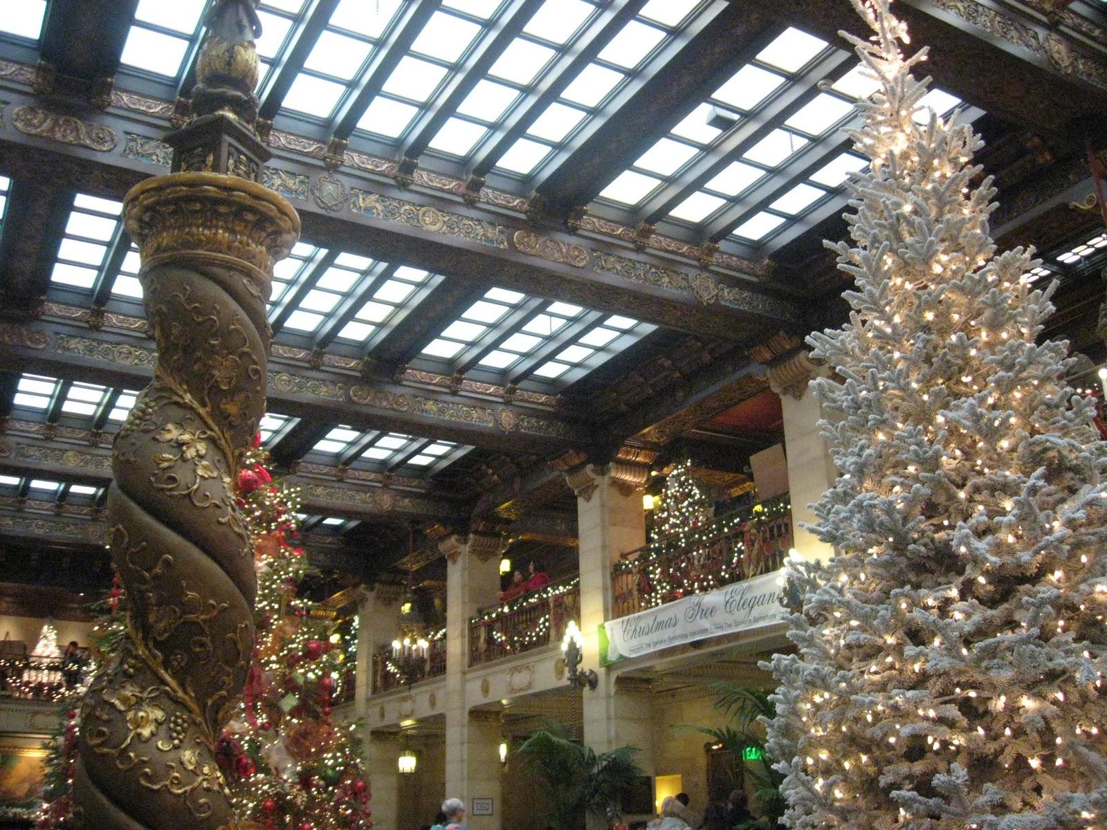 Davenport Hotel Christmas Tree Elegance 2021 Cheers To Christmas Tree Elegance At The Decadent Davenport Hotel