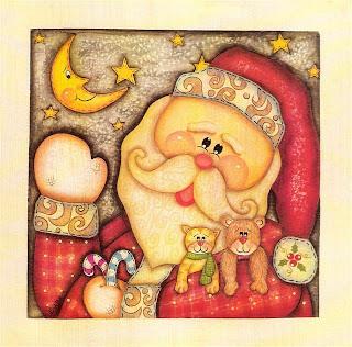 Artesanato e Cia : figuras de natal para decoupage
