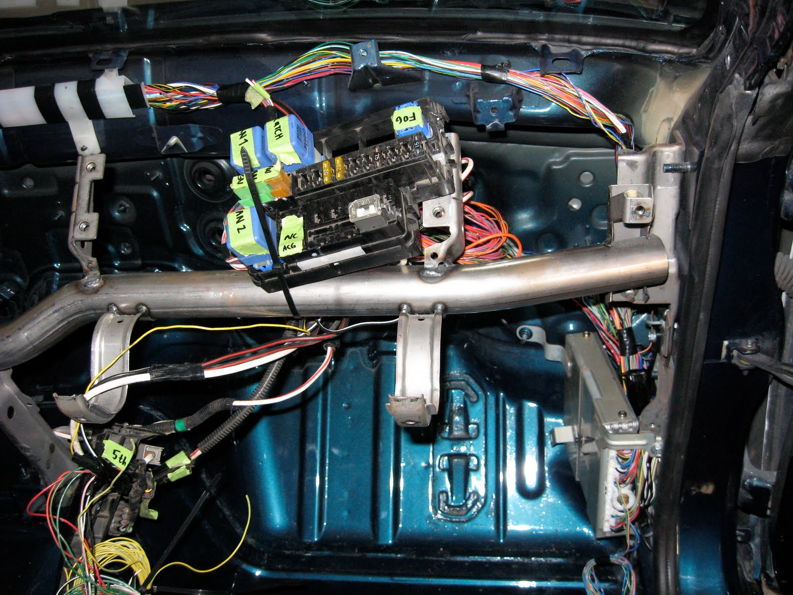 S13 Sr20det Into S14 Wiring Diagram Fuse Box Tuck 17 Images Diagrams Img 1061 240sx Harness 1994 Nissan Under Hood