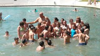 Primer día del Campus de Baloncesto Ejido 2008