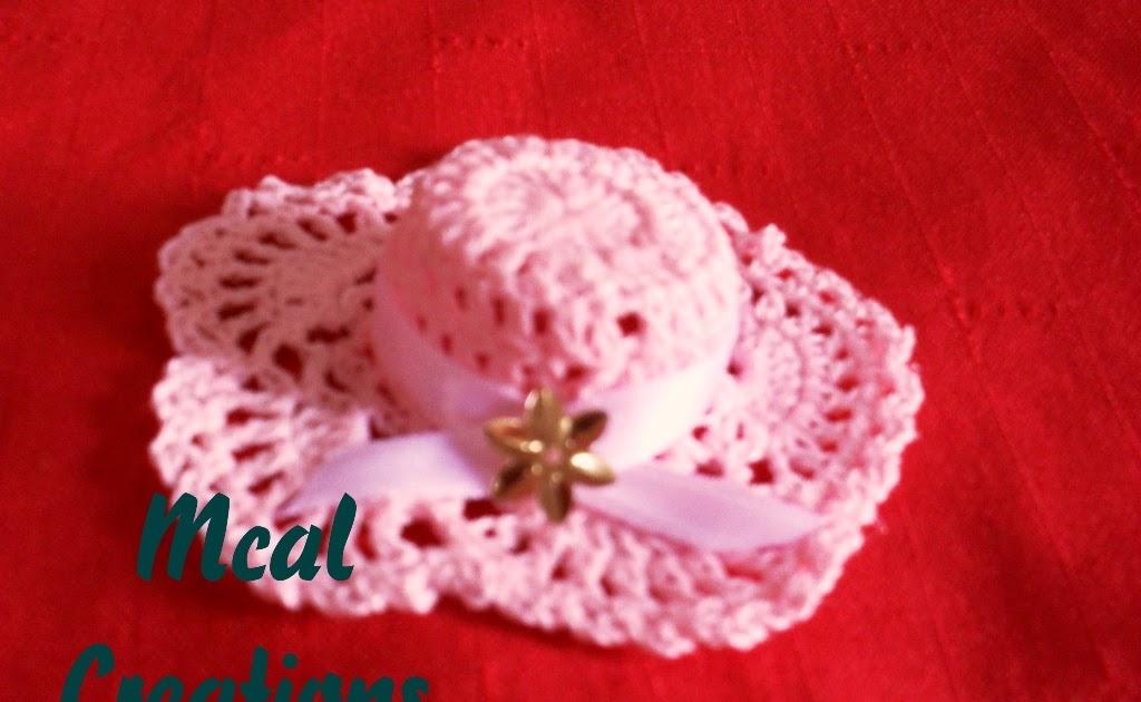 19f481039527c Mariela Crochet`s  Sombrerito para souvenir