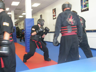 sparing stance