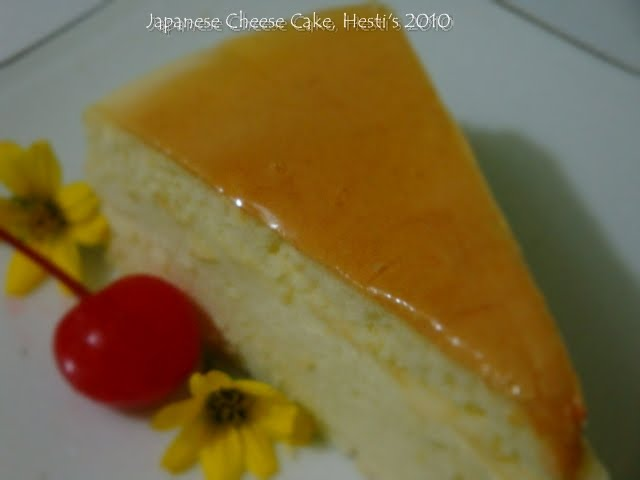 Resep Bolu Cheese Cake Jepang: HESTI'S KITCHEN : Yummy For Your Tummy: Japanese Cheese Cake