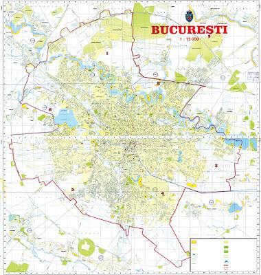 bucuresti harta Harti Bucuresti: Harta Bucuresti bucuresti harta