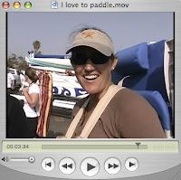 I love paddling