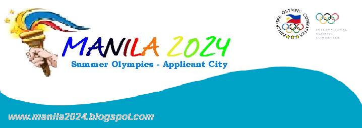 MANILA 2024 SUMMER OLMYPICS -  Applicant City
