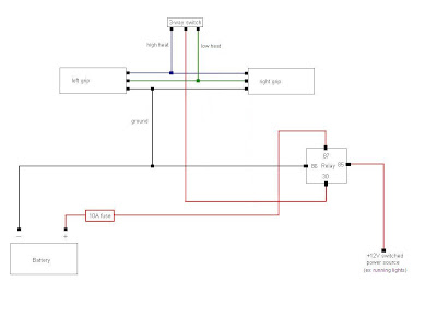 Heated Grips Wire Diagram | Wiring Diagram on