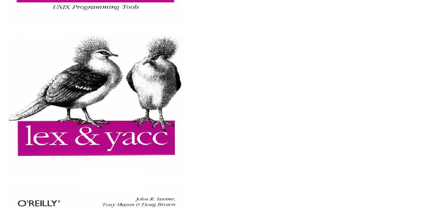 Lex And Yacc Oreilly Ebook