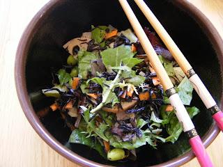 Hijiki salad