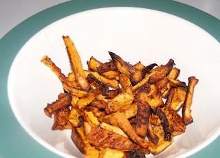 fries Squash fries (butternut)