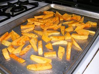 Squash fries (butternut)