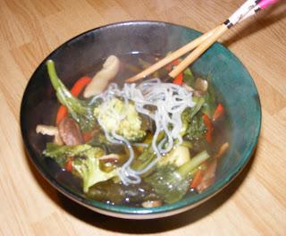 sukiyaki2 Vegetable sukiyaki