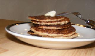 side+stack Sunday morning pancakes