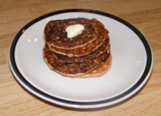 stack Sunday morning pancakes