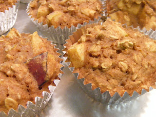 Apple muffins   vegan!