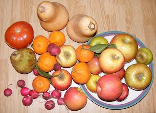 farmers+market+loot Apple muffins   vegan!