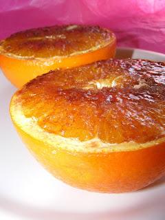 Grilled Cinnamon Oranges