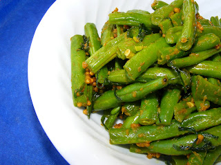 Spicy Indian Beans (Beans Foogath)
