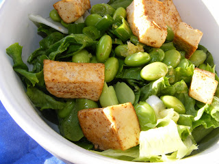 Edamame Lemon Salad