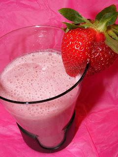 Vegan Strawberry Lassi