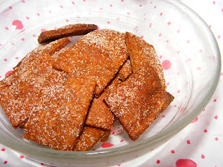 Taste&Create XI: Cinnamon Sugar Crackers
