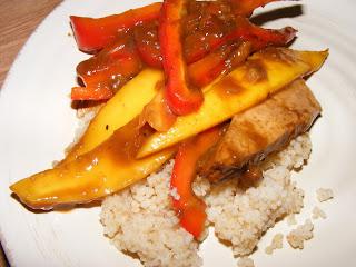 Mango Ginger Tofu from VWAV