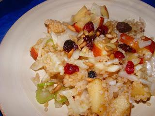Fennel Bulgar Waldorf Salad & WHB