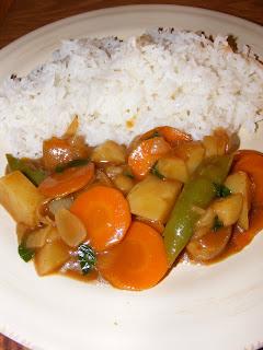 Japanese Curry AKA Kare