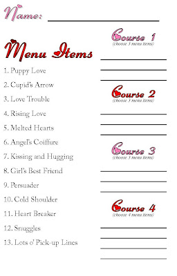 Gourmet Mom on-the-Go: Valentine Mystery Dinner