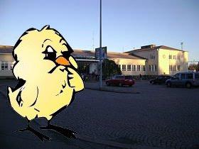 Pääsiäistipu Riihimäen asemalla